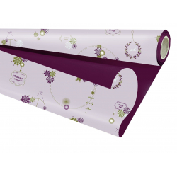 Opaline Duo Angie Rose / Bordeaux 0.8 x 25 m