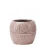 PAZO - Cache Pot Ciment Lilas D13 x H11 cm