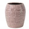 PAZO - Vase Ciment Lilas D18 x H20.5 cm