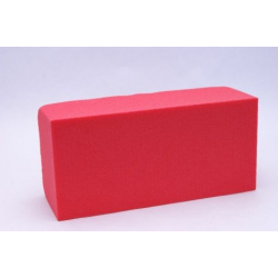 Brique Mousse 23x11x8 cm Rouge Baroque par 4