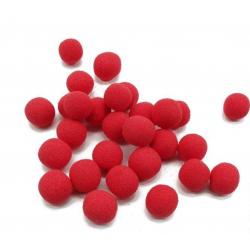 BILLES - Mousse Rainbow Rouge, 1cm, par 250