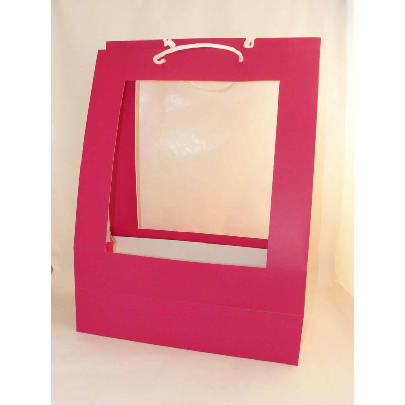 Sac Porte Bouquet GM Fuchsia (x10)