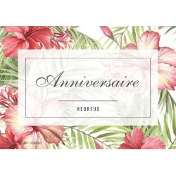 ANNIV - Carte Jeso Amour par 10 Heureux Anniversaire