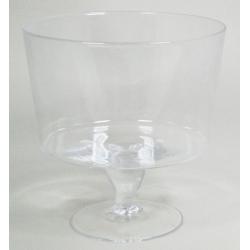 GLASS - Pot Conique sur Pied D25 x H25.5 cm