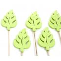 Palme Tige Bois d7 cm Vert par 10