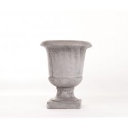 MEDICIS - Vase Ciment patiné D19 x H22 cm