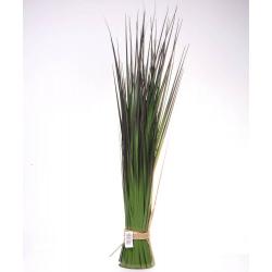 GRASS - Herbe avec pot en corde H85 cm vert