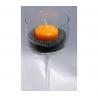 Bougie Flottante D5 Mandarine x 8