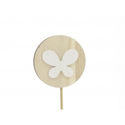 ATO - Pique Papillon Blanc Par 12