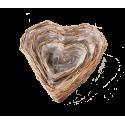LUNTAI - Vannerie Naturelle Coeur D19 cm Set de 3
