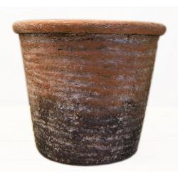 UTAH - Cache Pot Céramique Terracota d9 x h8 cm