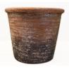 UTAH - Cache Pot Céramique Terracota D14.5 x H12 cm