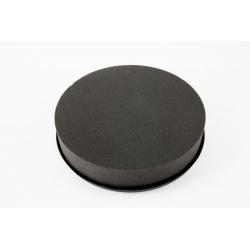 Coussin Rond Mousse Eychenne Noire 15 cm par 6