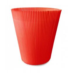 Manchettes 12.5 cm Rouge par 100