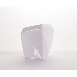LITO - Vase haut Céramique Blanc L13.5 x P8 x H13 cm
