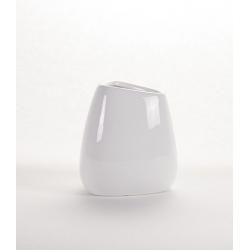 LITO - Vase haut Céramique Blanc L10 x P0 x H11.5 cm