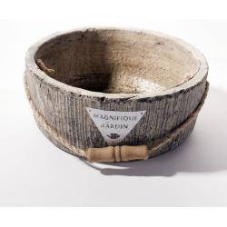 PATTY - Vasque Ciment rond D21 x H8,5 cm