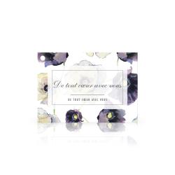CONDO - Carte Jeso Amour par 10 De tout coeur avec vous