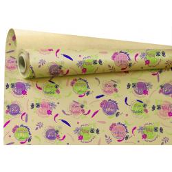 Papier Kraft Brun Bella 80cm x 40 m