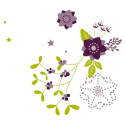 QUIETUDE - Cello Fantaisie Violet 0.80 x 120 m
