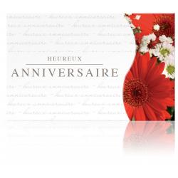 ANNIV - Carte Jeso Twist par 10 Heureux Anniversaire