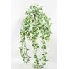 LEAF - Chute Lierre hollandais 368 feuilles Crème/Vert 70 cm