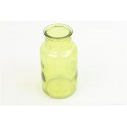SOL - Vase Verre Vert D7 x H13 cm