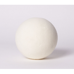 Sphere Mousse 12 cm Blanche   x 3