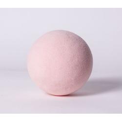 Sphere Mousse 12 cm Rose Dragée  x 3