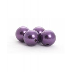 Perles 10 mm Violet par 120