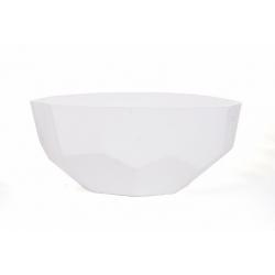 Coupe Diama Blanc d 37 x h 14 cm
