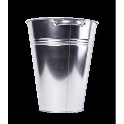 Seau en zinc 32/19x39cm avec poignée (13ltr)