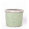 Cache pot ceramique 14 cm Vert