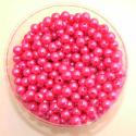Perles 10mm Fuchsia par 600