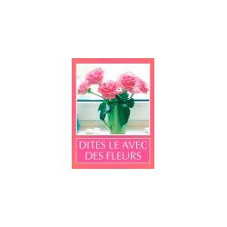 DIV - Etiquettes Voeux Tendresse par 500 Dites le avec des fleurs