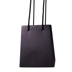 Sac à Bouquet Parrafiné Noir 12x15x18 10/pqt