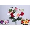 ENA - Bouquet 10 branches Rose, orchidée Ass.  H31 cm par 12