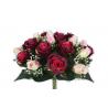 EVA - Bouquet 36 branches Rose, gypso Pourpre H44