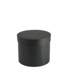 Boîte à chapeau Ronde Noire D22 x H17 par 2