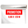 Cello Neutre 0,80 x 120m 40 microns Promotion