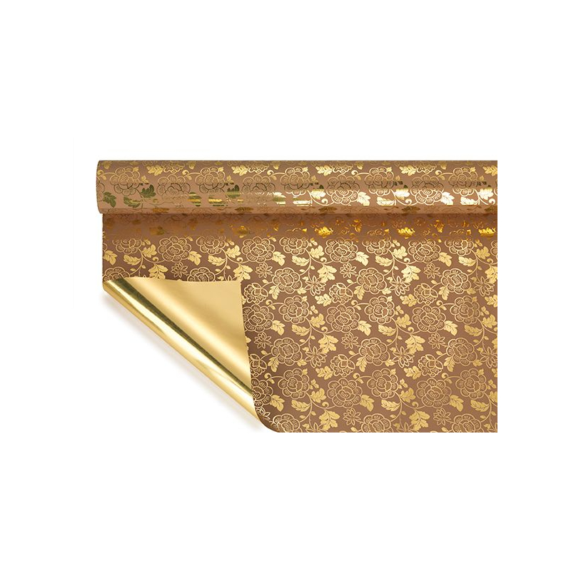 DALIA - Opaline Gold Marron 0.70 x 50 m