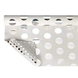 GRAN POIS - Opaline Metal Blanc 0.70 x 50 m