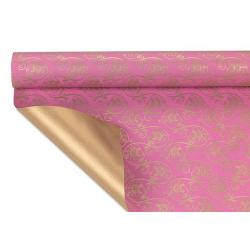 DOROTHEA - Papier Kraf Rose cyclamen 0.80 x 40 m