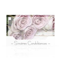 CONDO - Carte Jeso Silenzio par 10 Sincères Condoléances