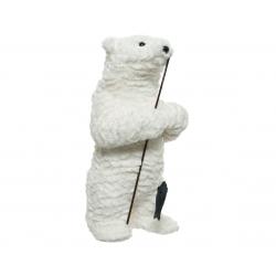 TEDDY - Ours en peluche Blanc L22 x P22 x H45 cm