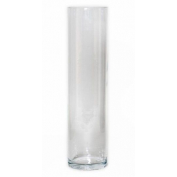 CYL - Vase Verre Cylindre D15 x H60 cm