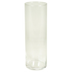 CYL - Vase Verre Cylindre D10 x H30 cm