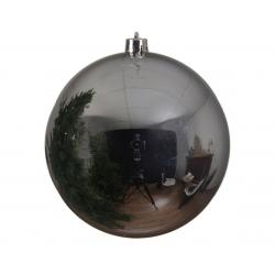 SWINTAG - Boule Plastique Argent brillant D20 cm