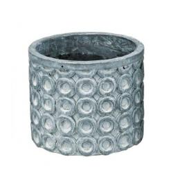 TIMA - Pot Ciment Gris D11 x H9,5 cm