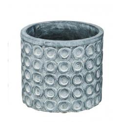 TIMA - Pot Ciment Antthracite D13 x H11 cm